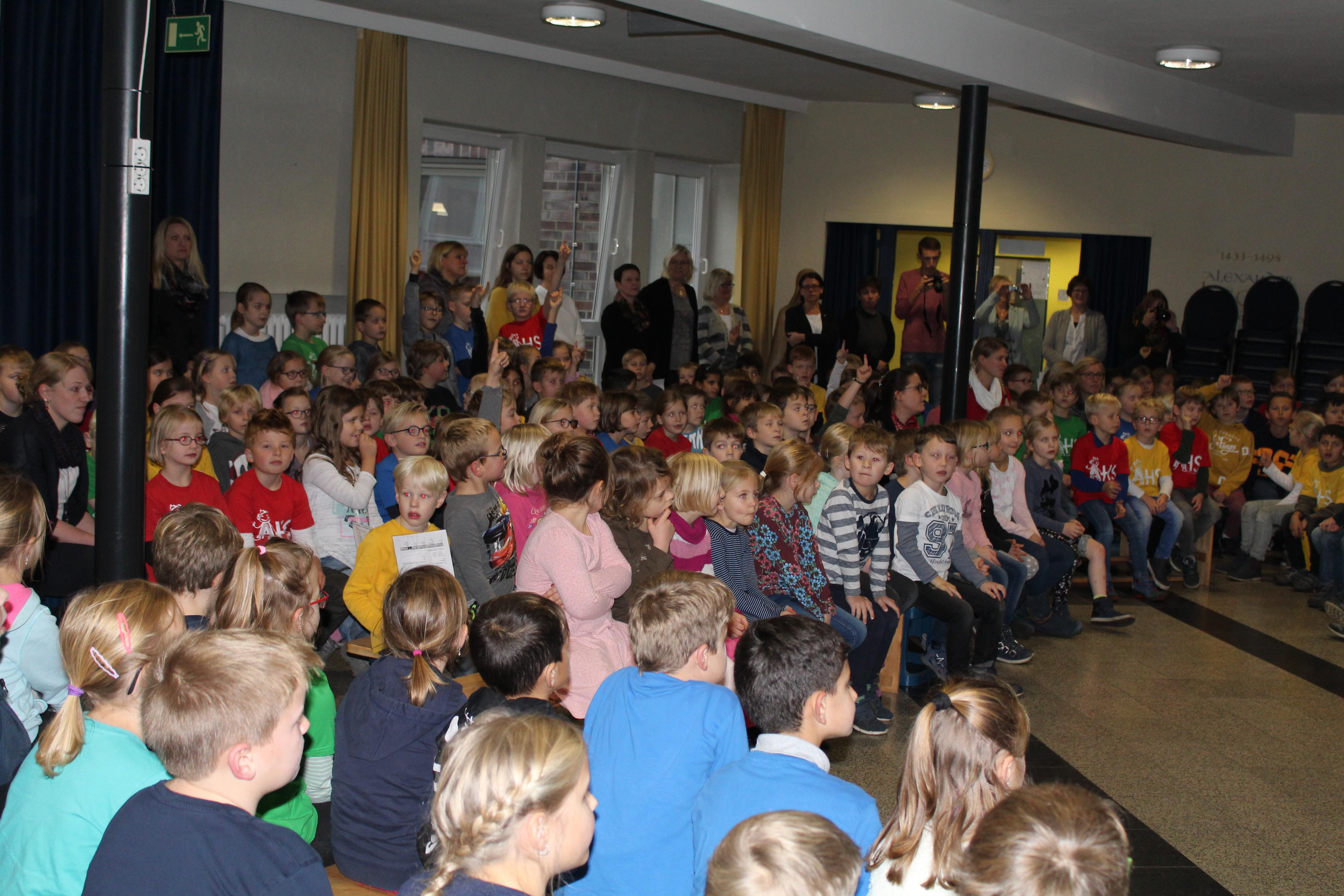 Grundschule Heek Zertifizierung Zum Haus Der Kleinen